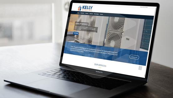 Kelly HVAC Website